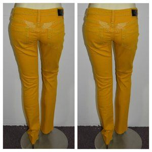New  ROBIN'S JEAN sz 26 Colored Straight Jeans